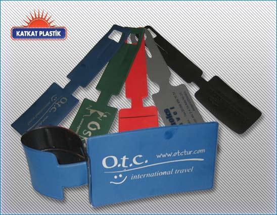 kp-013 -PVC Bavul etiketi