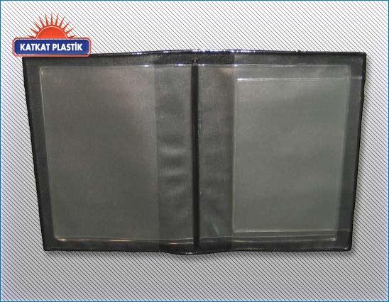 kp-032 -PVC Ruhsat kabı içi