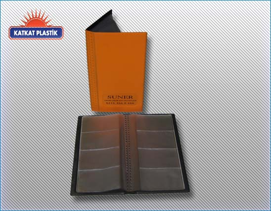 kp036 PVC 4lü kartvzitlik