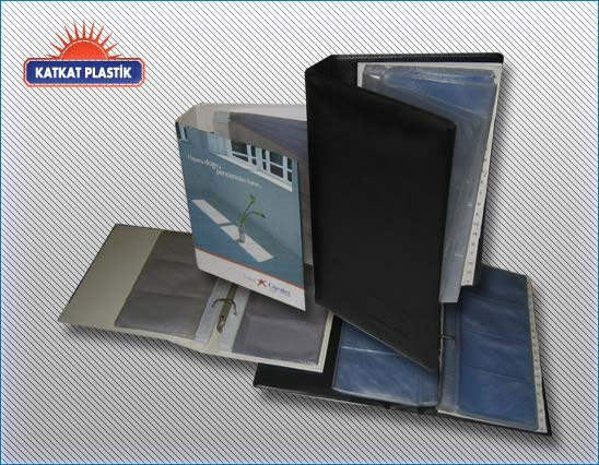 kp-038 -PVC Kartvizit klasörü