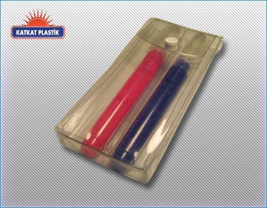PVC Çıtçıtlı kalemlik